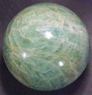 Aquamarine sphere
