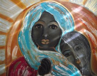 Flo-Schell_Adult-Child-and-Black-Madonna
